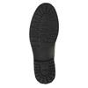 Kožená členková obuv na výraznej podrážke bata, šedá, 893-2650 - 26