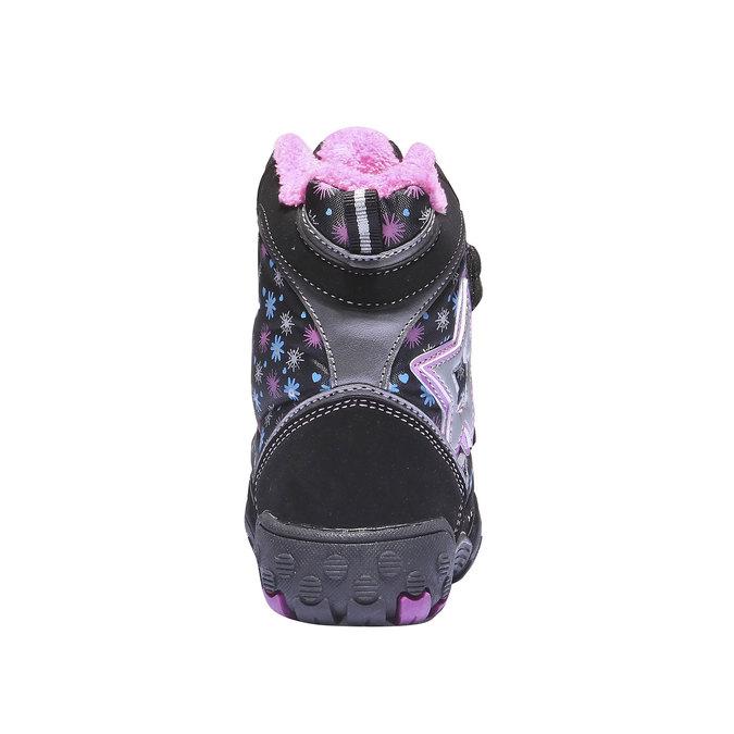 Detská obuv mini-b, čierna, 291-6100 - 17