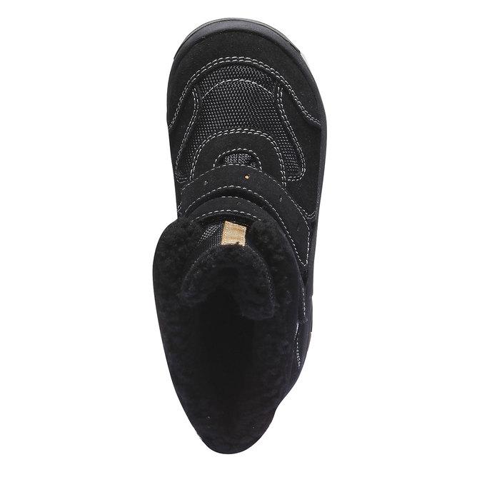 Detská obuv mini-b, čierna, 393-6101 - 19