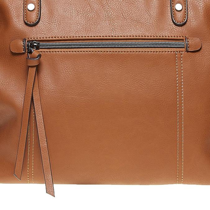 Hnedá dámska kabelka bata, hnedá, 961-3857 - 17