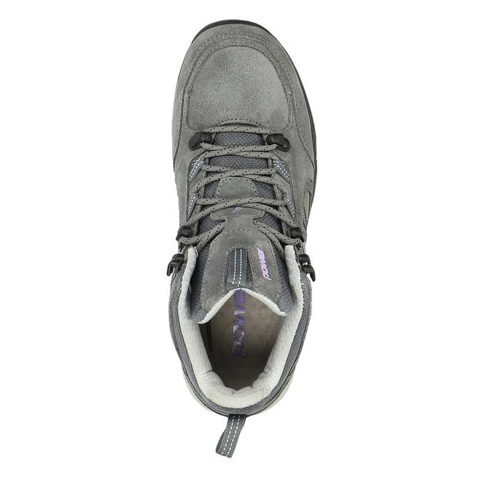 Kožená členková obuv v Outdoor štýle power, šedá, 503-2830 - 19