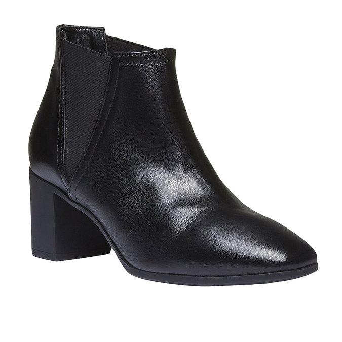 Dámska členková obuv flexible, čierna, 694-6627 - 13