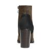 Členková obuv na širokom podpätku bata, hnedá, 799-3612 - 17
