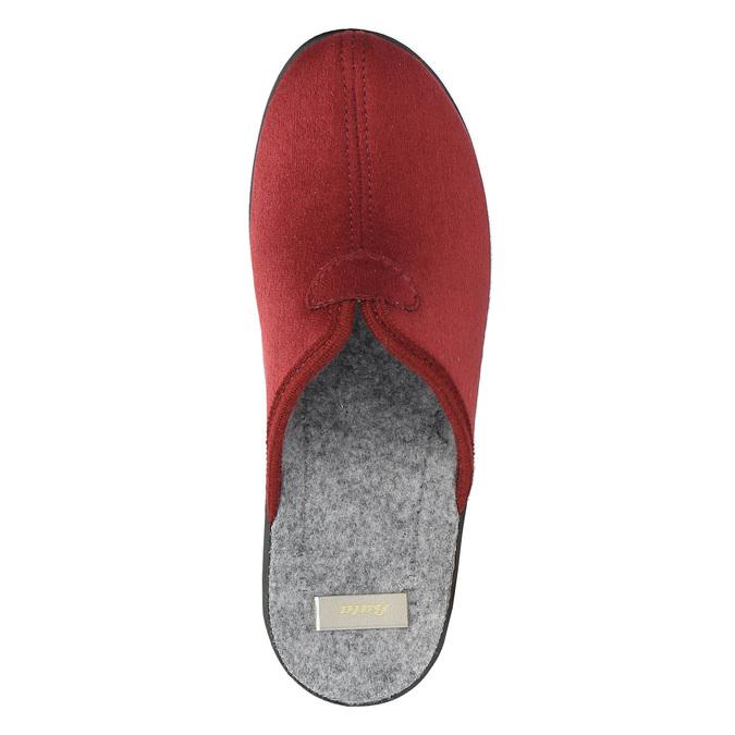 Dámska domáca obuv s plnou špicou bata, červená, 579-5602 - 19