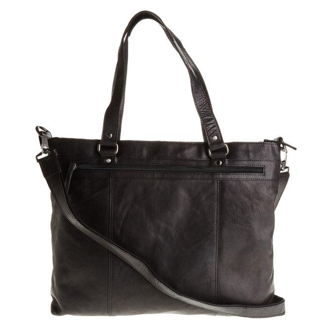 Kožená dámská kabelka bata, čierna, 964-6132 - 26