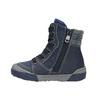Detská kožená obuv so zateplením bubblegummer, modrá, 116-9102 - 26