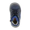 Detská kožená obuv so zateplením bubblegummer, modrá, 116-9102 - 19