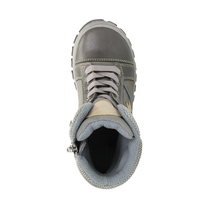Detská členková obuv mini-b, šedá, 411-2602 - 19