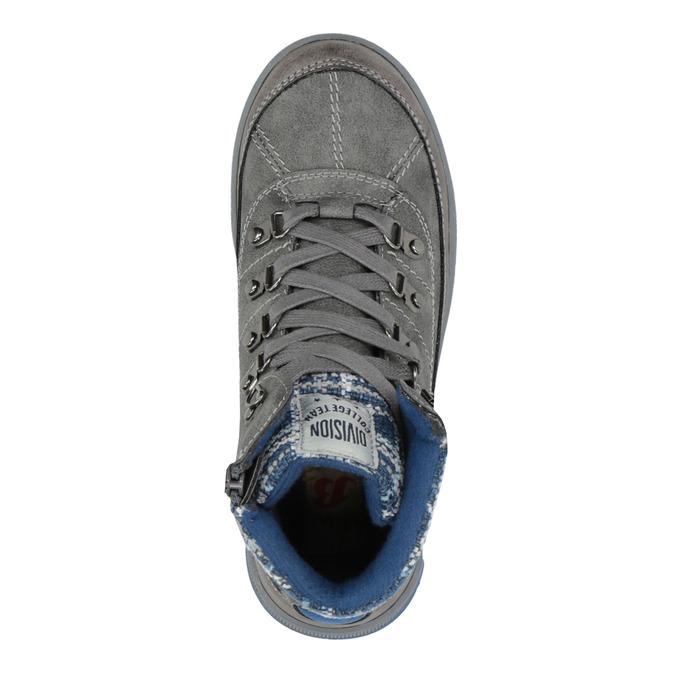 Detská členková obuv mini-b, šedá, 491-2651 - 19