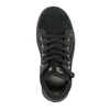 Detské kožené tenisky nad členky mini-b, čierna, 323-6171 - 19