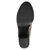 Členková obuv na širokom podpätku bata, hnedá, 791-3601 - 26
