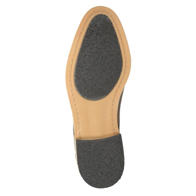 Ležérne kožené poltopánky hnedé bata, hnedá, 826-3653 - 26