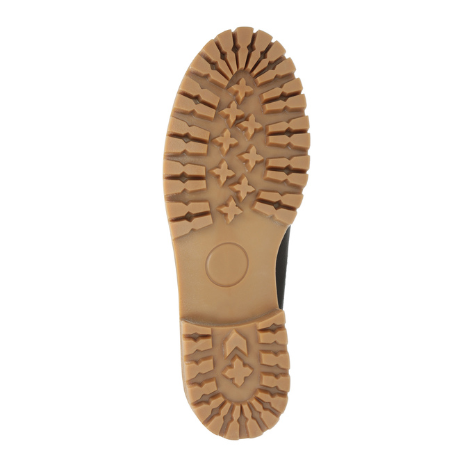 Dámska kožená zimná obuv weinbrenner, hnedá, 594-4491 - 26