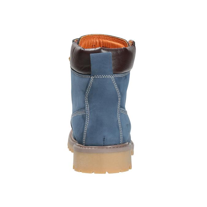 Dámska kožená obuv modrá weinbrenner, modrá, 596-9629 - 17