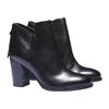 Kožená členková obuv bata, čierna, 794-6576 - 26
