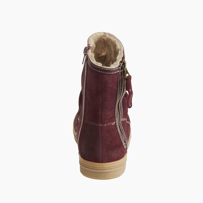 Kožené členkové čižmy bata, 593-9103 - 17