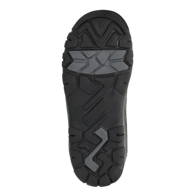 Detská členková obuv mini-b, čierna, 299-6610 - 26