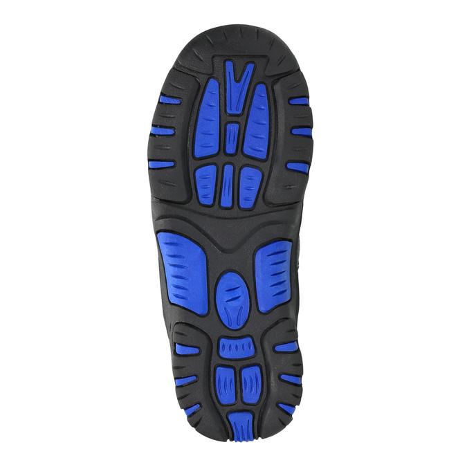 Detská zimná obuv mini-b, šedá, 291-2601 - 26