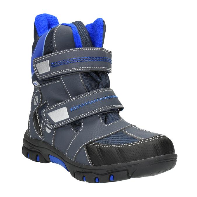 Detská zimná obuv mini-b, šedá, 291-2601 - 13