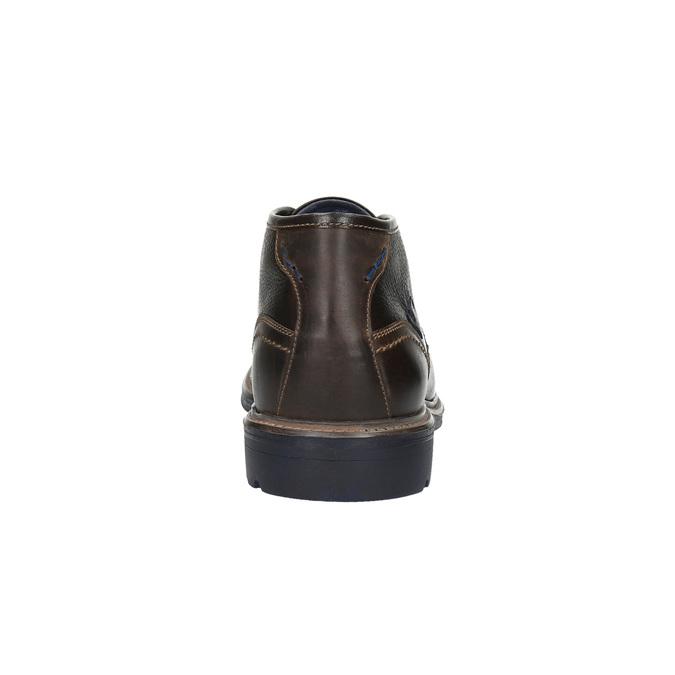 Kožené Chukka Boots bata, hnedá, 824-4701 - 17