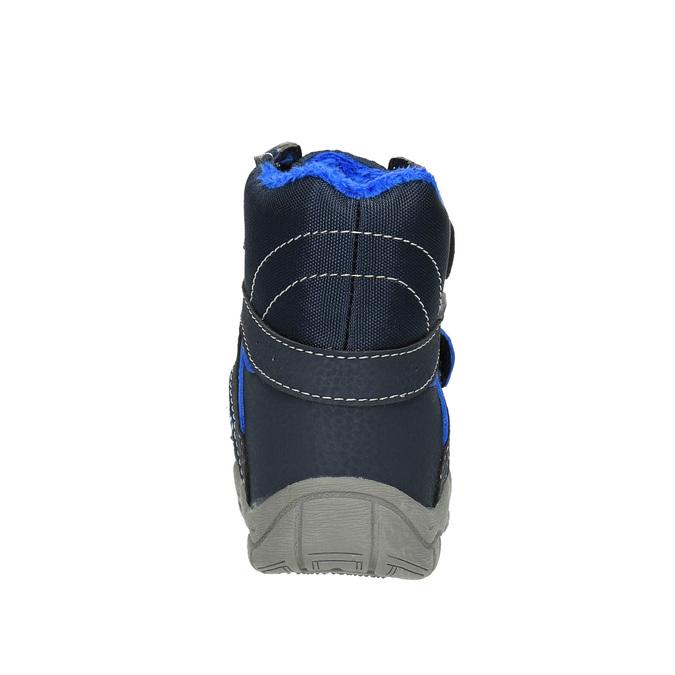 Detská zimná obuv bubblegummer, modrá, 199-9601 - 17