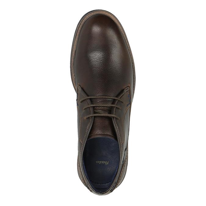 Kožené Chukka Boots bata, hnedá, 824-4701 - 19