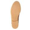 Kožená členková obuv so zateplením bata, hnedá, 596-3610 - 26
