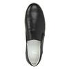 Pánske kožené Slip-on bata, čierna, 844-6630 - 19