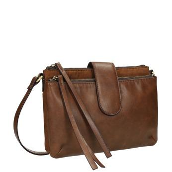 Dámska Crossbody kabelka hnedá bata, hnedá, 969-3458 - 13