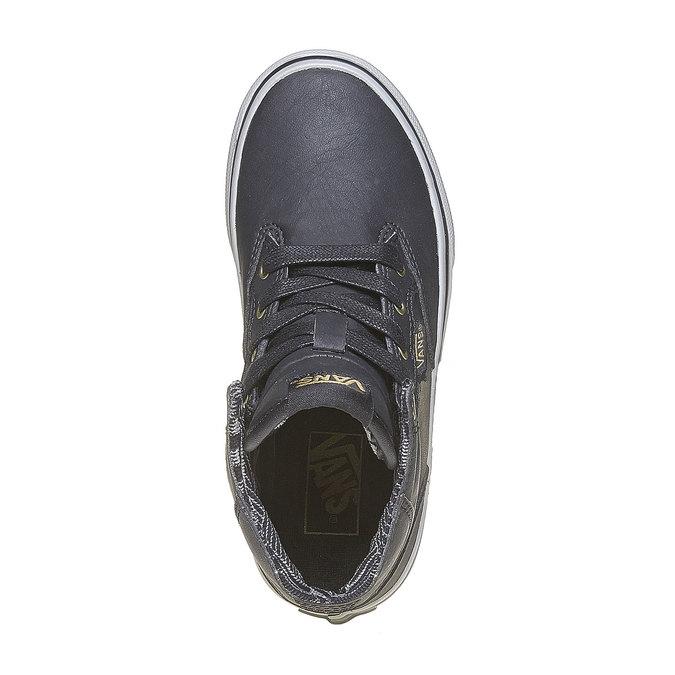 Detské členkové tenisky vans, čierna, 401-6310 - 19