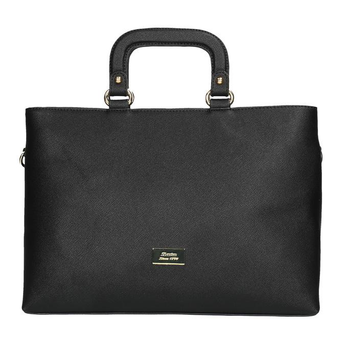 Dámska kabelka do ruky bata, čierna, 961-6627 - 19