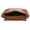 Crossbody kabelka s Etno vzorom bata, hnedá, 969-3642 - 15