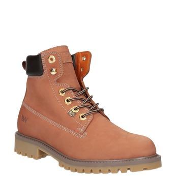 Dámska obuv v štýle Worker Boots weinbrenner, oranžová, 596-5629 - 13