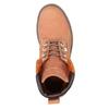 Dámska obuv v štýle Worker Boots weinbrenner, oranžová, 596-5629 - 19