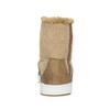 Dámska členková obuv s kožúškom bata, hnedá, 599-4606 - 17