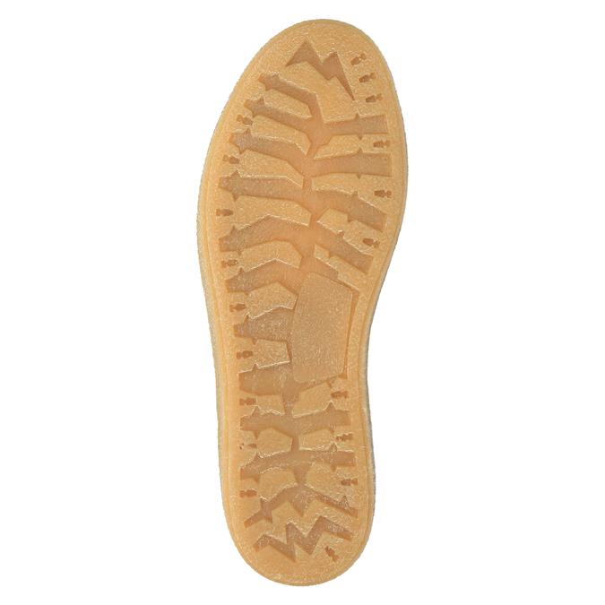 Kožená zimná obuv s kožúškom weinbrenner, hnedá, 596-8628 - 26