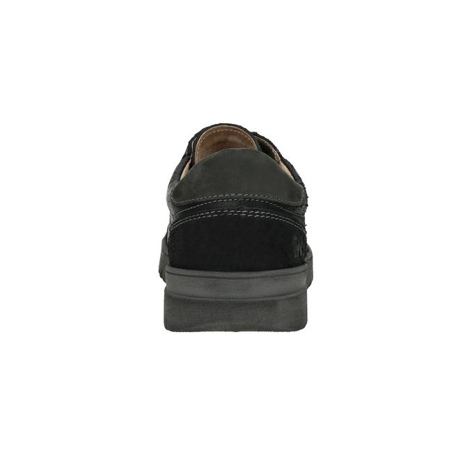 Pánske ležérne tenisky weinbrenner, čierna, 843-6620 - 17