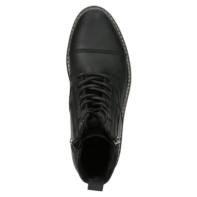 Pánska obuv ku členkom bata, čierna, 896-6641 - 19