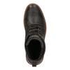 Pánska kožená zimná obuv bata, hnedá, 894-4659 - 19