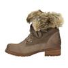 Dámska zimná obuv s kožúškom bata, hnedá, 591-3605 - 26