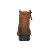Pánska obuv v Ombré štýle bata, hnedá, 896-3649 - 17