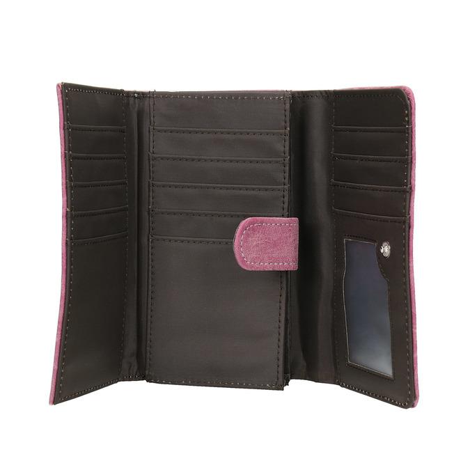 Štýlová dámska peňaženka bata, ružová, 941-5153 - 15