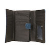 Dámska modrá peňaženka bata, modrá, 941-9153 - 15