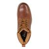 Kožená členková obuv pánska bata, hnedá, 896-3652 - 19