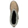 Dámské čižmy s cvokmi bata, hnedá, 591-2600 - 19