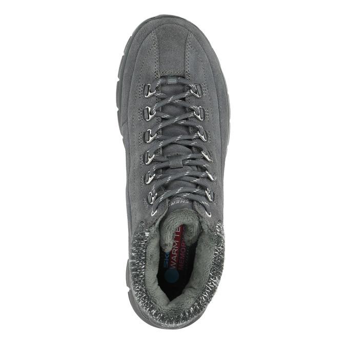 Dámska zimná obuv športová skechers, šedá, 503-2357 - 19