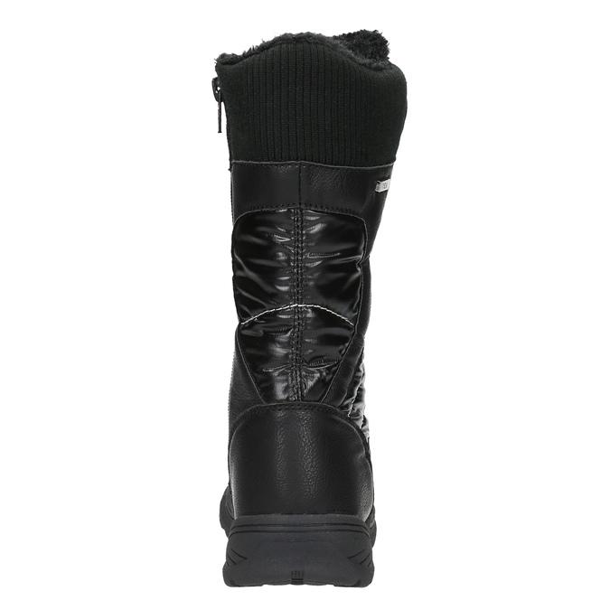 Detské snehule s kožúškom mini-b, čierna, 499-6102 - 17