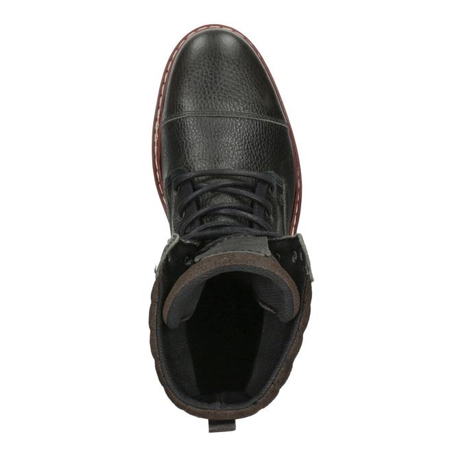 Pánska členková zimná obuv bata, šedá, 896-2650 - 19
