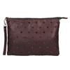 Kabelka v štýle listovej kabelky bata, fialová, 969-5631 - 19