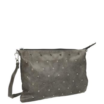 Menšia kabelka s hviezdami bata, šedá, 969-3631 - 13